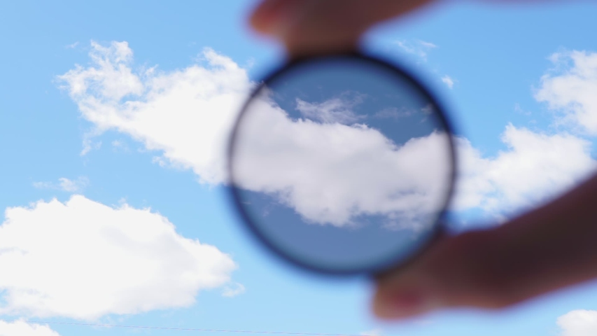 Polarizer filter Accessory for the photographer | Shutterstock HD Video #1057401916