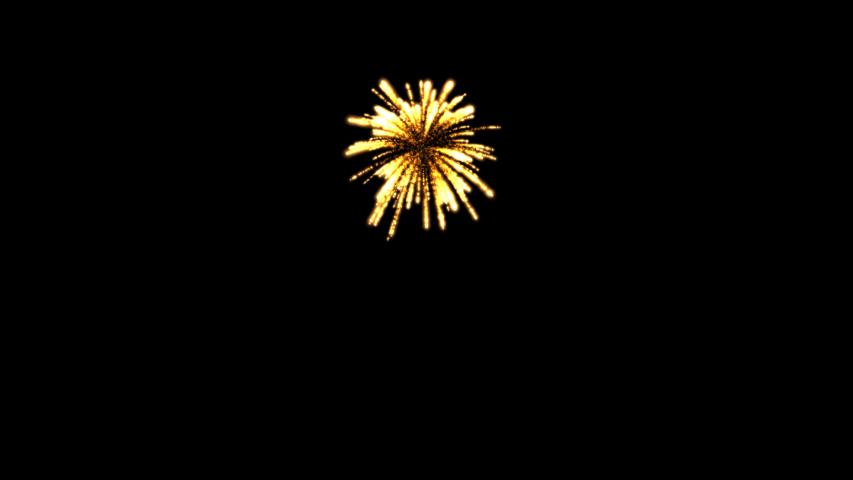 Gold firework particle spark three different style with 3d rendering include alpha path. | Shutterstock HD Video #1057407913