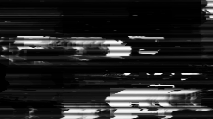 Glitch noise static television VFX pack. Visual video effects stripes background,tv screen noise glitch effect.Video background, transition effect for video editing, intro and logo reveals with sound.