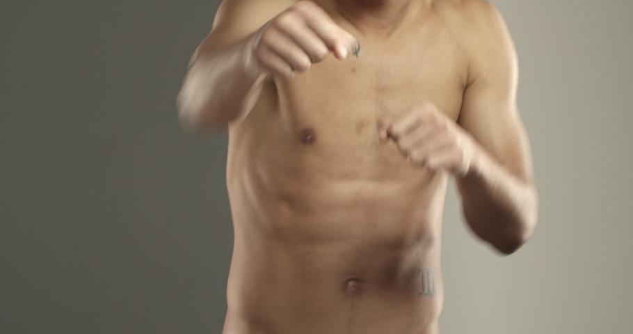 Photo Of Young Naked Man Bare Torso