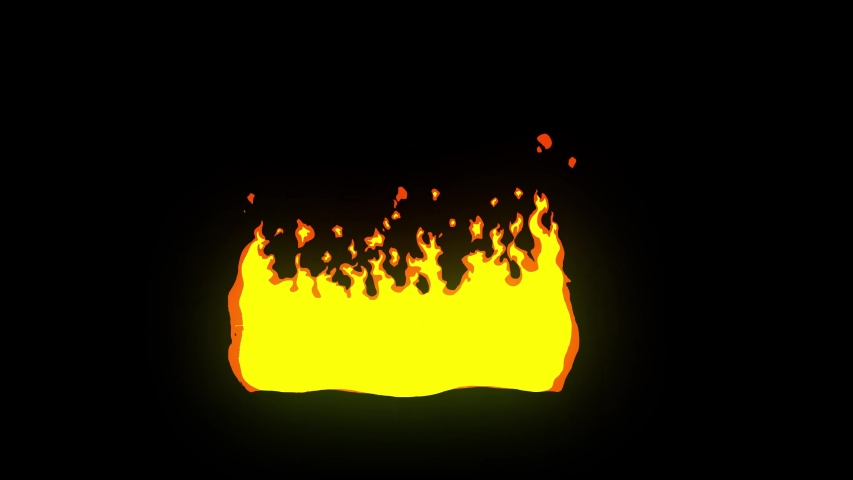2d Cartoon FX Pack 4K Fire Elements with glow effect and with out glow effect. Pre-rendered with alpha channel with 4K resolution.Animation on black background.Fire element transition pack. | Shutterstock HD Video #1057515625