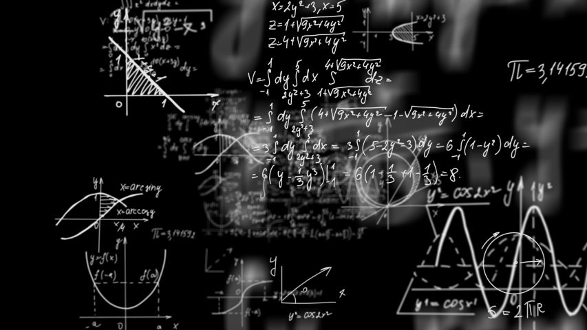 Math and Physics Formulas loopable Royalty-Free Stock Footage #1057528147
