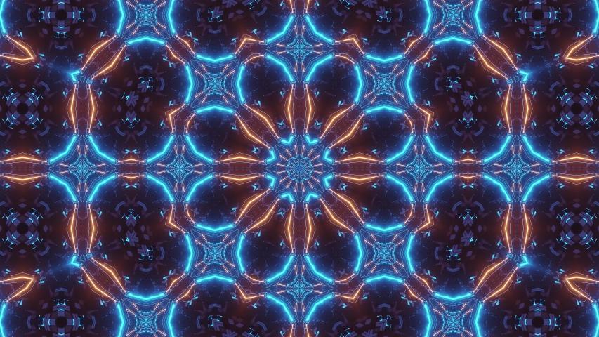 Creative Vivid Abstract Pattern 4k uhd 3d rendering vj loop