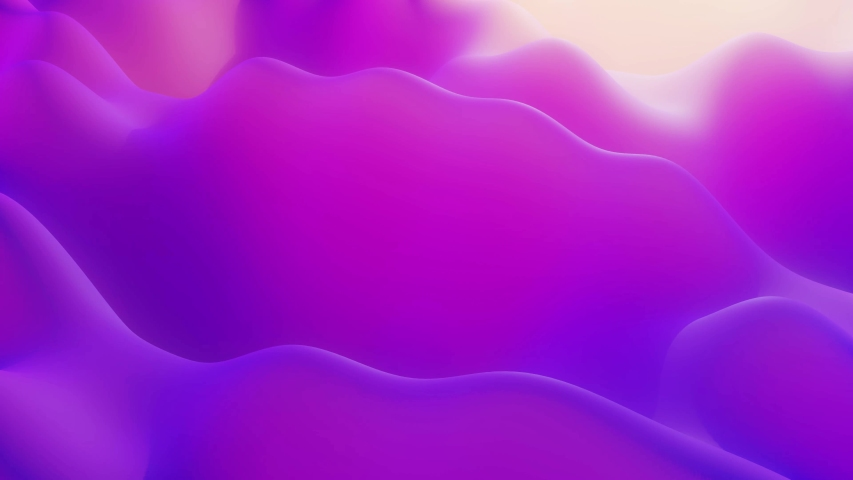 Stylish abstract looped background, changing surface of soft translucent material like jelly. Creative soft bright 3d bg with inner glow for festive events 4k. Red orange yellow gradient. | Shutterstock HD Video #1057544353