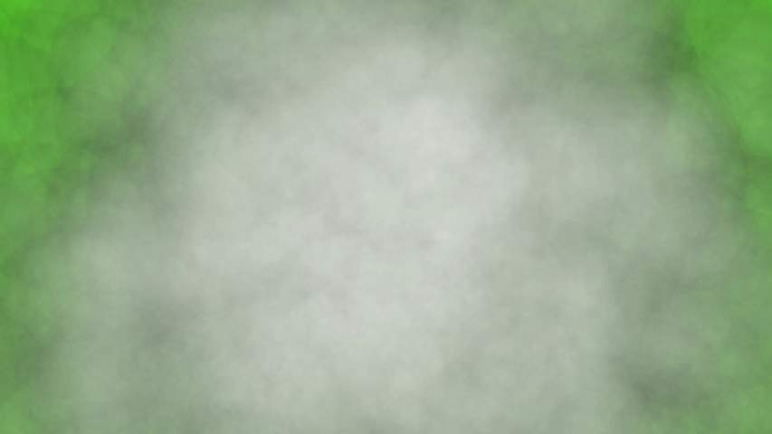 Realistic smoke coming from the center to the edges on a green background   Shutterstock HD Video #1057558078