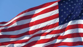 Usa Flag Close Up 4k Free Stock Video Footage Download Clips Random Objects
