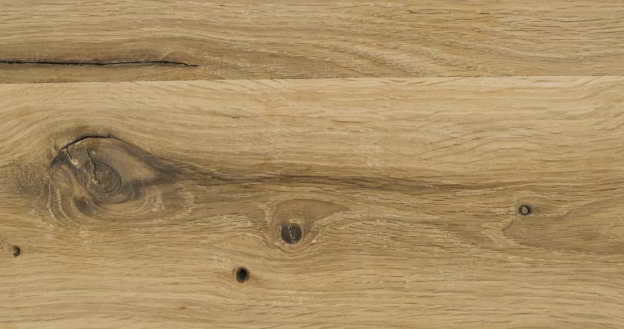 Zoom, natural oak plank. Plank texture with crack and knots. | Shutterstock HD Video #1057958716