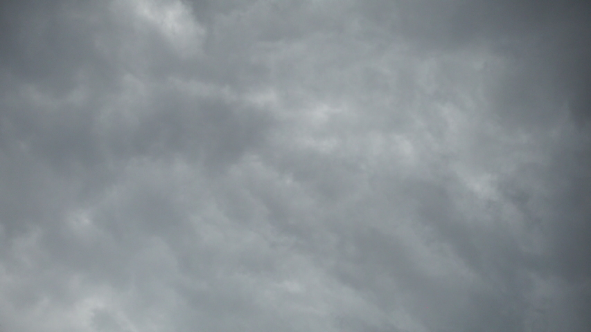 Real time flying amazing grey rain clouds and rain drops falling down.. | Shutterstock HD Video #1058018827