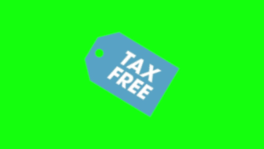 Tax free shopping business shopping duty shopping tax free icon business icon duty icon tax free refund label refund duty tax free green screen business green screen duty green screen 10 animations | Shutterstock HD Video #1058412256