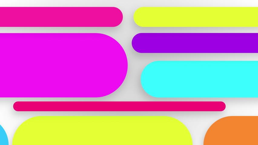 Abstract background with neon box circle pattern LED screens Royalty-Free Stock Footage #1058412604