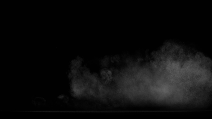 Smoke, fog, Cloud, steam, vapor - realistic smoke cloud best for using in composition, 4k, screen mode for blending, ice smoke cloud, fire smoke, ascending vapor steam over black background. | Shutterstock HD Video #1058560651