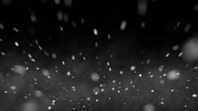 Snow storm Transitions, Video Footage, FHD 1080p