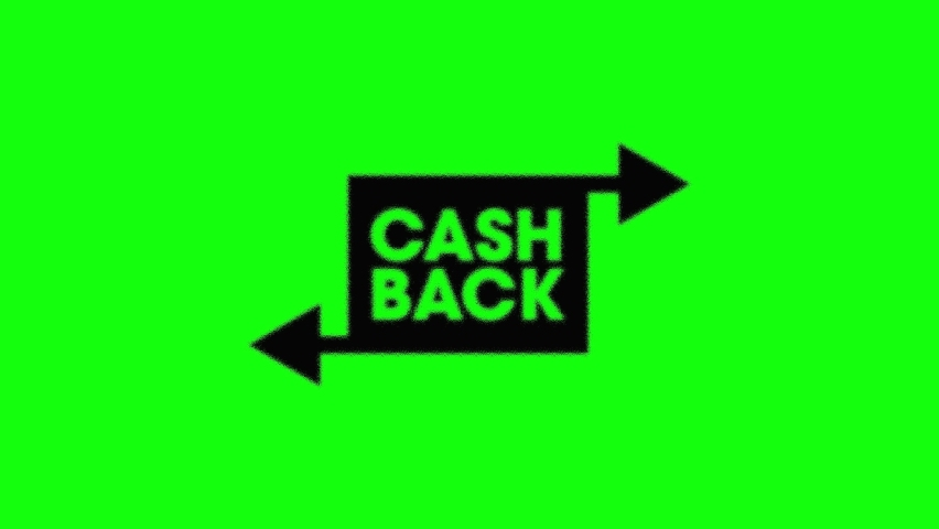 10 intro animations of cashback symbol or icon. Green Screen Chroma Key Background. Concept of money return, refund, discount, payment and tax free. Royalty-Free Stock Footage #1058665909