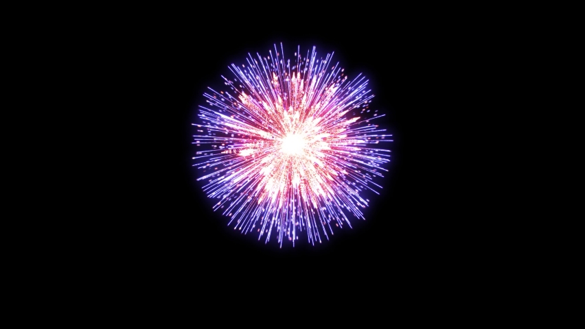 4K. loop seamless of real fireworks background. abstract blur of real golden shining fireworks with bokeh lights in the night sky. glowing fireworks show. New year's eve fireworks celebration. Royalty-Free Stock Footage #1058884750