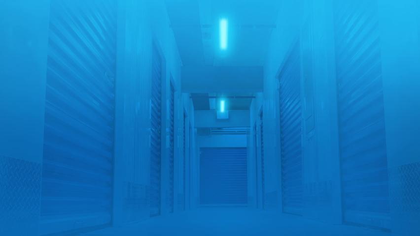 Moving Through Freezing Storage Facility