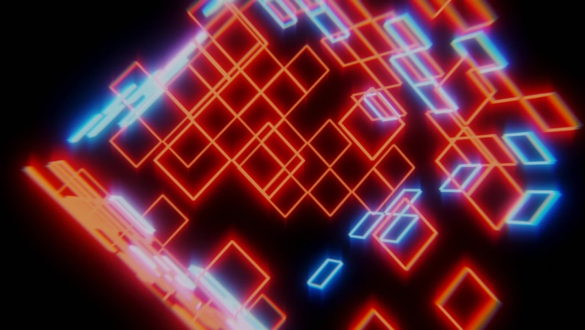Neon club build abstract video | Shutterstock HD Video #1059031394