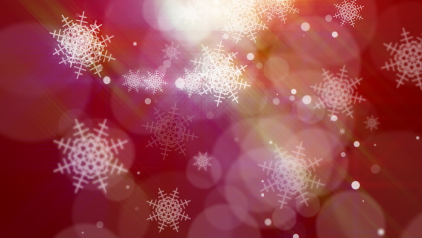 Bokeh snowflakes unfocused circles background  | Shutterstock HD Video #1059054665