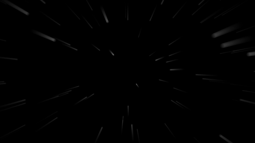 Animation of flying neon white stripes on a black background, flying stars  | Shutterstock HD Video #1059056270