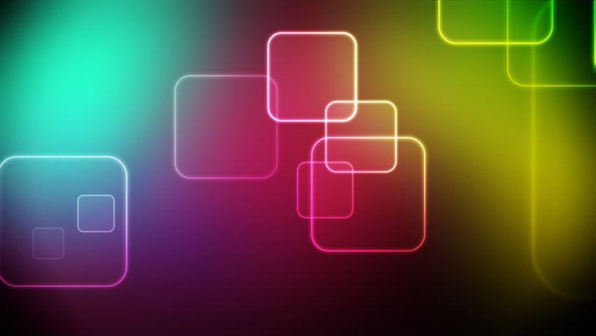 Colorful Cubes Video Background Loop Footage Video | Shutterstock HD Video #1059146276