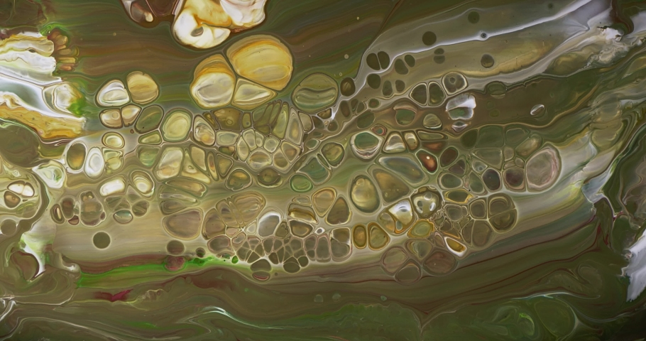 Abstract Macro Composition. Color Paint mixed in slow motion.  | Shutterstock HD Video #1059152585