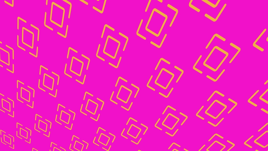 Color pattern with geometric shapes on a minimal black background, horizontally and vertically inclined, initially from the left then moving to the right, composed of geometric shapes. | Shutterstock HD Video #1059193238