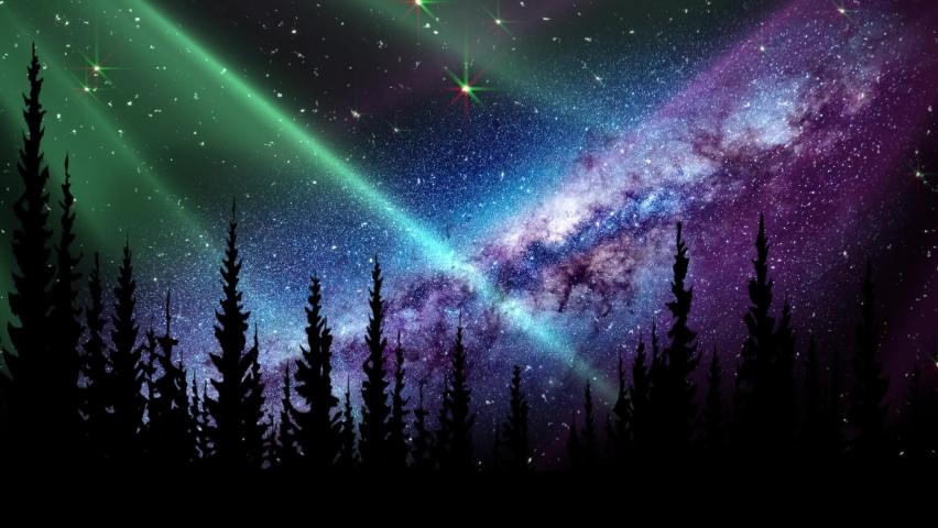 Milky Way Night Time Lapse-Stars, Planet Mars and the Milky Way  Night Time Lapse,Night starry sky, milky way in night horizon, beautiful dark day time, stars shining, white. Star trails rolling. | Shutterstock HD Video #1059193412