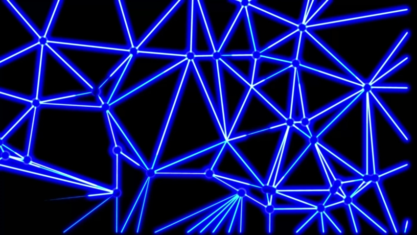 Abstract seamless neon background animation. Video animation of glowing neon abstraction 4K. Stylish seamless hologram.  | Shutterstock HD Video #1059197123