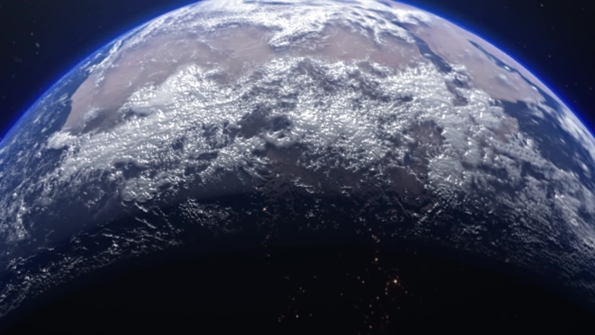 Beautiful movements of the earth seen from outer space | Shutterstock HD Video #1059216104