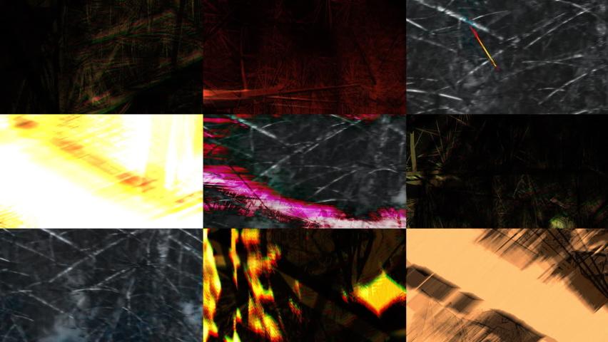 Scratches multi television screens background | Shutterstock HD Video #1059219479