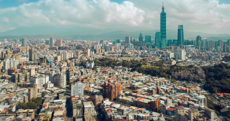 Hyperlapse of Taipei cityscape, Taiwan | Shutterstock HD Video #1059228155