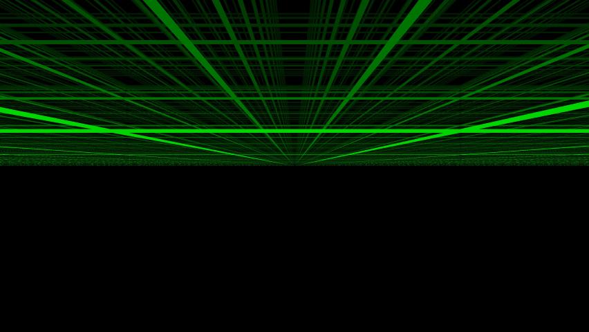 Below the Matrix Grid of Green Bars Low Ceiling | Shutterstock HD Video #1059283808
