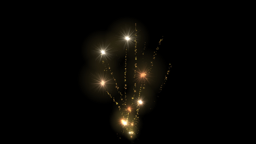 Flare trail explosion magic particle random festival with 3d rendering include alpha path. | Shutterstock HD Video #1059297329