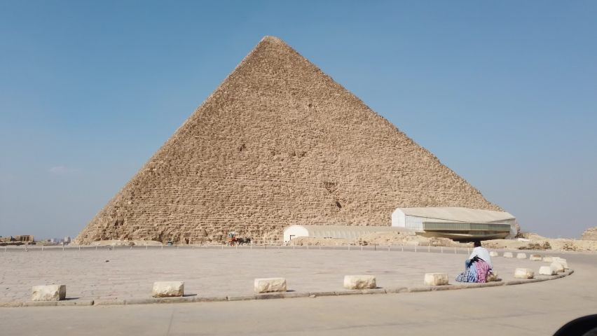 The Great Pyramid of Giza, one the seven wonders of the world