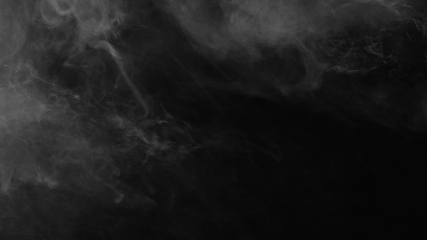 White smoke on a black background. Slow motion. Vape smoke. Vapor , fog, ice smoke cloud , realistic smoke cloud best for using in 4k composition. | Shutterstock HD Video #1059531233