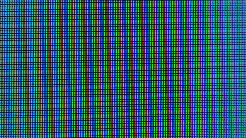 Old LCD pixels background. Macro shot of computer screen, pixel texture. Abstract rainbow background. Close the LED screen with Color Shades technology. Closeup monitor. Illumination wallpaper sample. | Shutterstock HD Video #1059567197