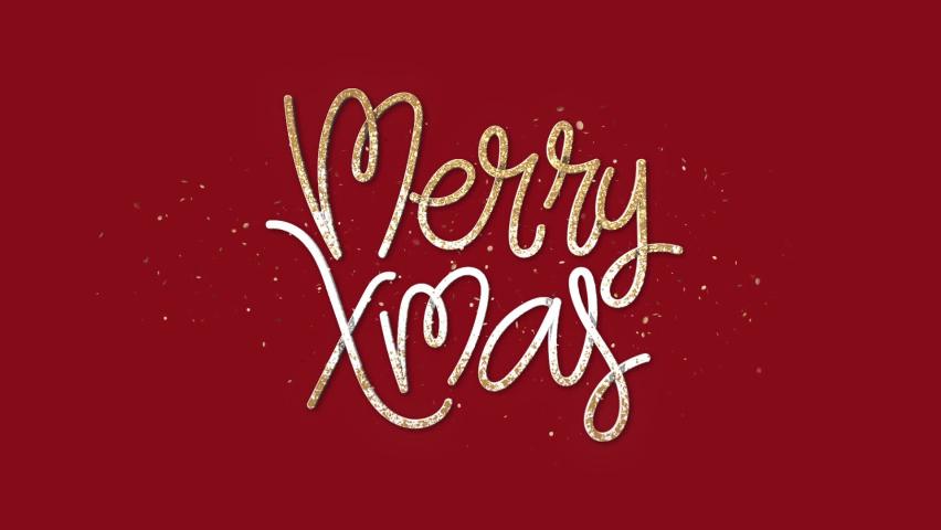 Merry Xmas + Alpha Channel | Shutterstock HD Video #1059626666