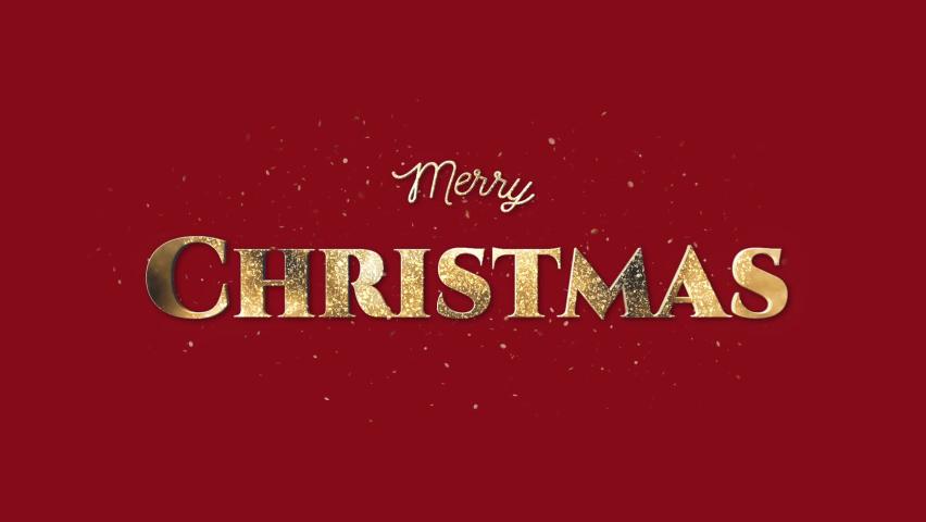 Merry Christmas + Alpha Channel | Shutterstock HD Video #1059626678