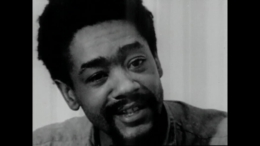 CIRCA 1970 - While being held at San Francisco County Jail, Black Panther leader Bobby Seale describes in detail the meal he would make for himself.