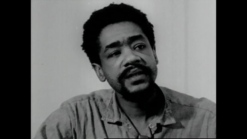 CIRCA 1970 - Black Panther leader Bobby Seale is interviewed at San Francisco County Jail about prison guards trying to entrap him.