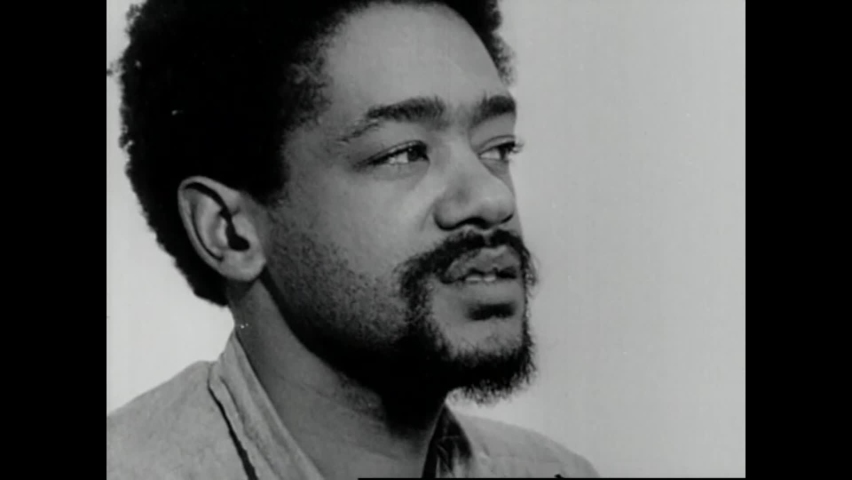 CIRCA 1970 - Black Panther leader Bobby Seale is interviewed at San Francisco County Jail, and talks about Huey P. Newton's hunger strike.