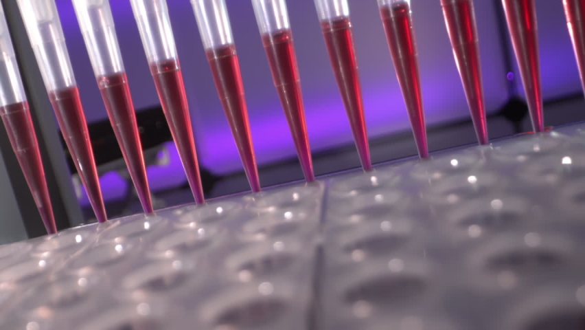 pcr machine for polymerase chain reaction (PCR) technique is ubiquitous in laboratories Royalty-Free Stock Footage #1059852674
