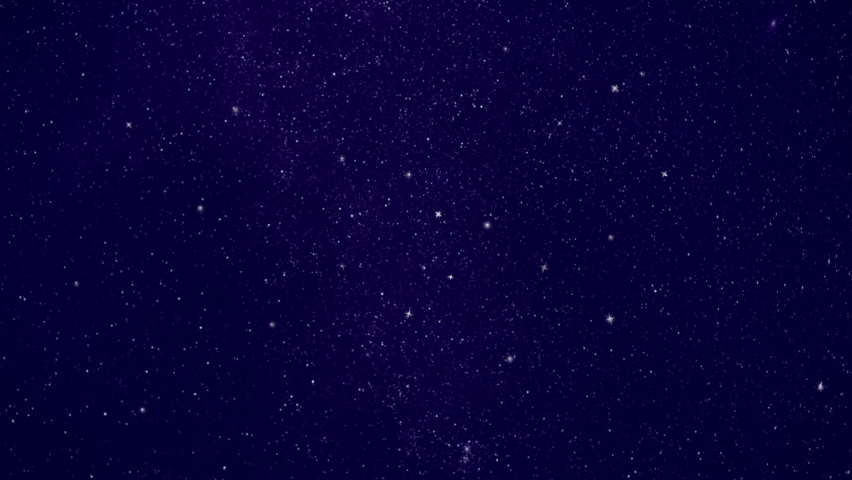 Night starry skies with twinkling and blinking stars. Natural motion background. Seamless loop space backdrop.  Royalty-Free Stock Footage #1059853508