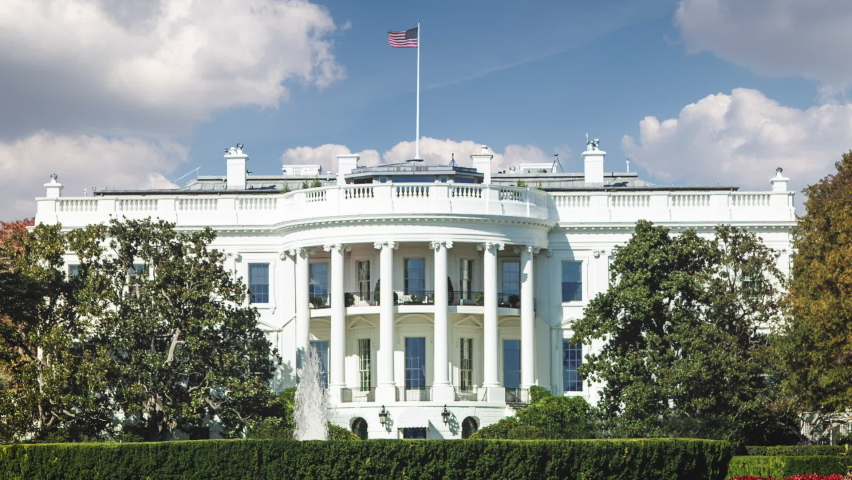 White House Time Lapse Zoom | Shutterstock HD Video #1059904700