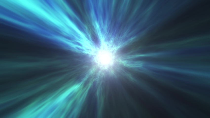 Abstract blue vortex time portal. Fantastic animation of an astral tunnel or travel wormhole with neon lights and brights. Concept of  space, energy , distortion of reality. This is a 4k background .