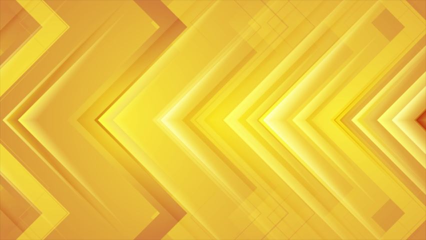 Abstract orange glossy arrows geometric tech motion background. Seamless looping. Video animation Ultra HD 4K 3840x2160 | Shutterstock HD Video #1060547800