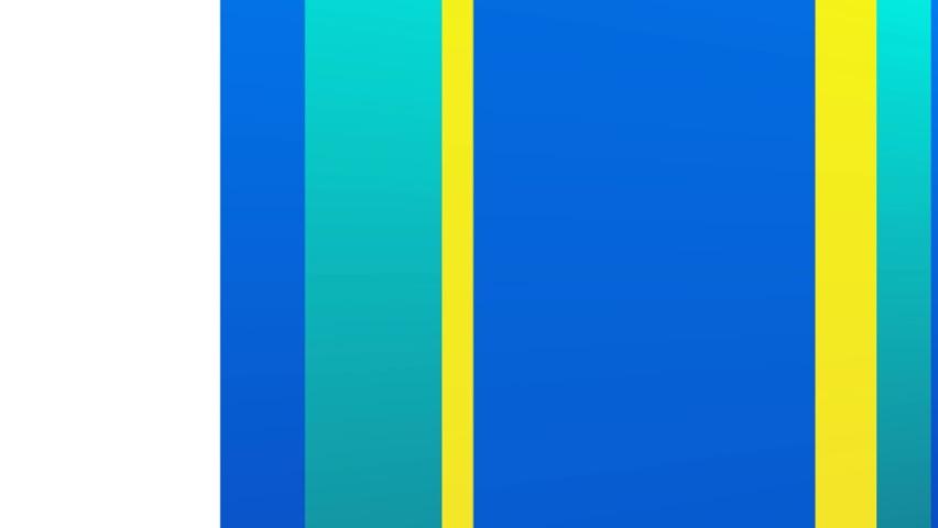 Sliding shape array configuration motion graphic backgrounds  #1060900264
