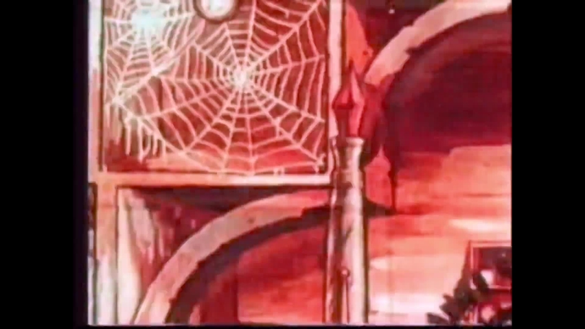 CIRCA 1936 - In this animated film, flies fight back against a spider who tried to trap them in a cobweb hotel.