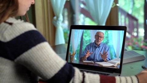 Brünette Teen Brille Webcam