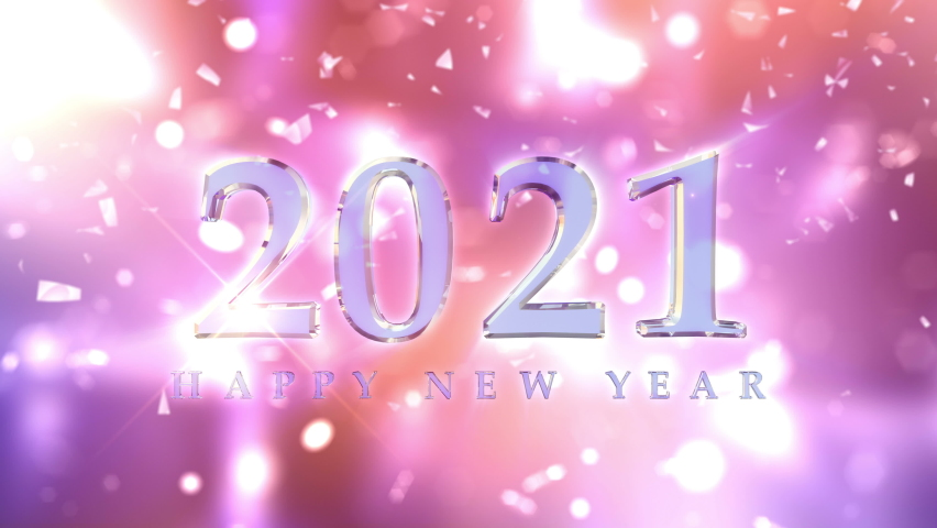 New Year 2021 Countdown Animation | Shutterstock HD Video #1060981240