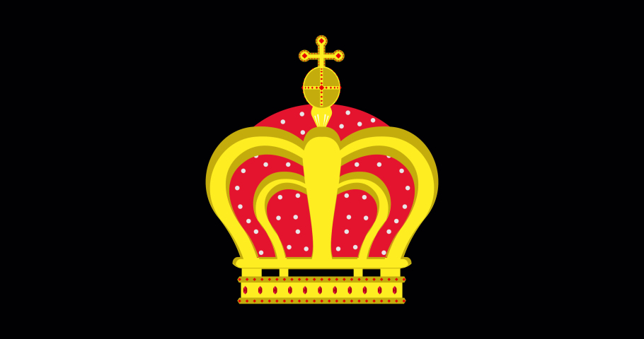Crown vector king queen isolated icon royal design. Symbol illustration luxury princess jewelry #1061111887